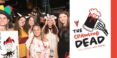 Crawling Dead: Halloween Bar Crawl 2019  tickets