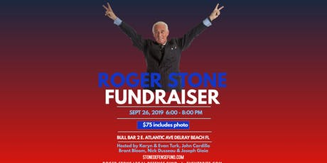 Roger Stone Fundraiser tickets