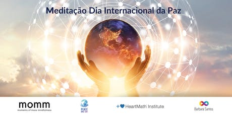 Meditação Global Dia Internacional da Paz bilhetes