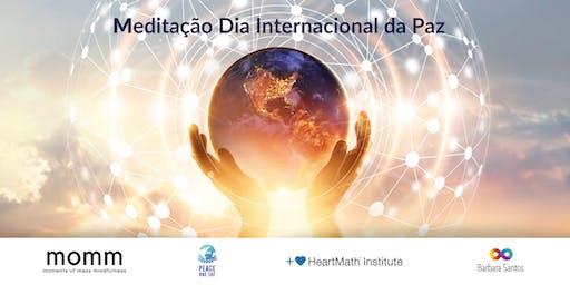 Meditação Global Dia Internacional da Paz