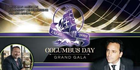 The 2019 Columbus Day Grand Gala tickets