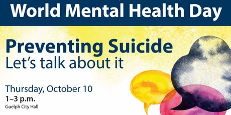 Preventing Suicide: Let's talk about it tickets
