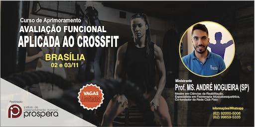 [BRASÍLIA] CURSO AVALIAÇÃO FUNCIONAL APLICADA AO CROSSFIT