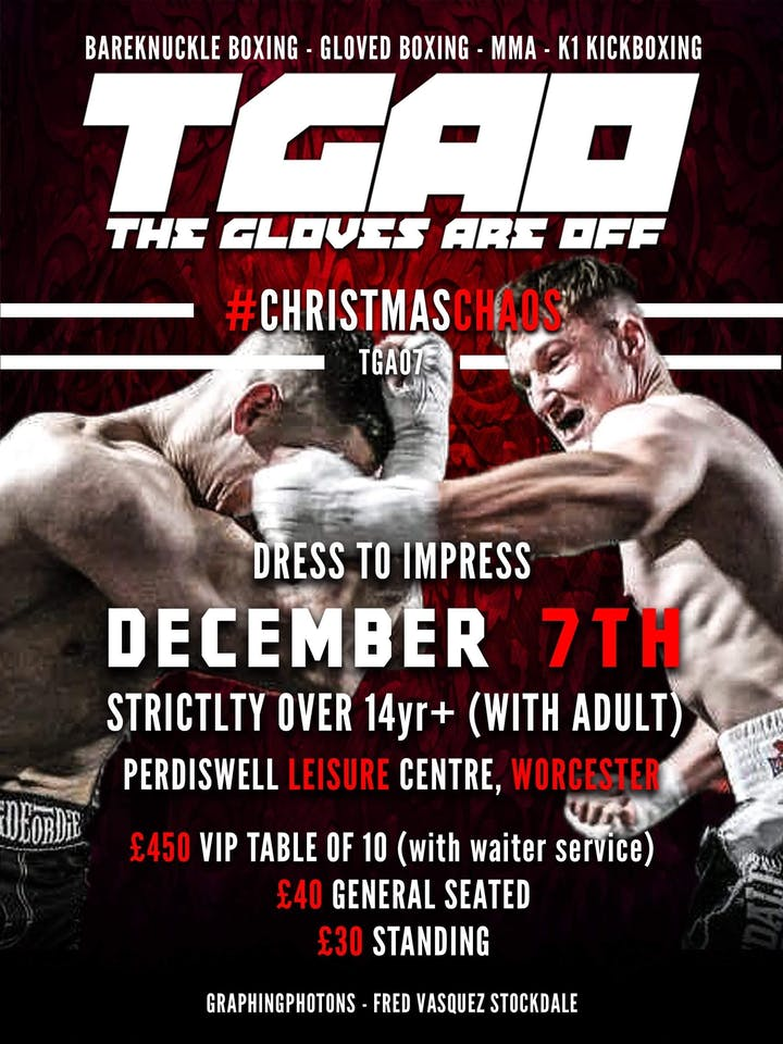 THE GLOVES ARE OFF 7 Tickets, Sat 7 Dec 2019 at 03:00