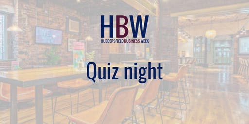Huddersfield Business Week Quiz Night
