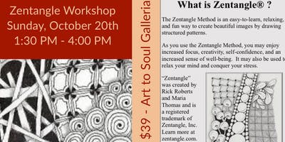 The Art of Zentangle for Beginners with CZT Instructor Angie Gittles