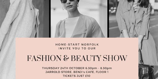 Home-Start Norfolk Fashion Show