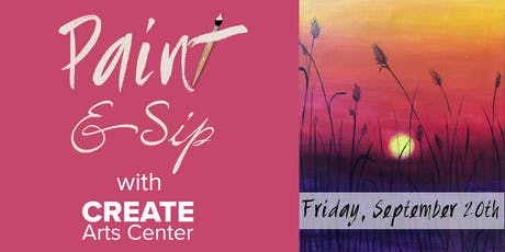 September Paint & Sip with CREATE tickets