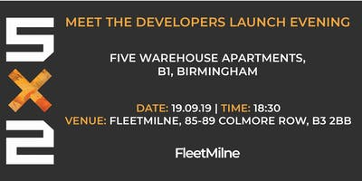 5x2| Meet the Developers Launch Evening