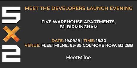 5x2| Meet the Developers Launch Evening tickets