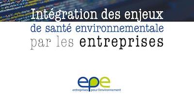 Lancement de la nouvelle publication d'EpE santé-environnement