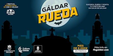 Inscripción a GÁLDAR RUEDA. Festival Internacional de Cine de Gáldar 2019. entradas
