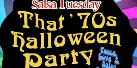 Salsa Tuesday 70's Theme Halloween Party @ Alhambra tickets