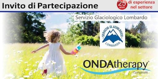 """Serata """"Prevenzione e Salute""""  Onda therapy con il Servizio Glaciologico Lombardo"""
