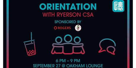 Orientation Night with CSA tickets