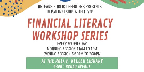 Financial Literacy Workshop: Insurance and Auto Ownership tickets