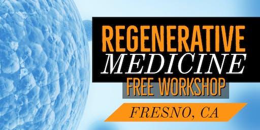 Free Regenerative Medicine for Pain Relief Dinner Workshop - Fresno, CA