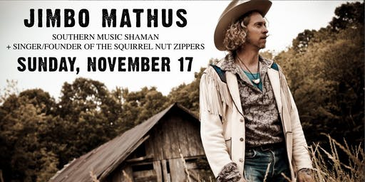 Jimbo Mathus' Incinerator  (of Squirrel Nut Zippers) w/ Mickie & Mallory