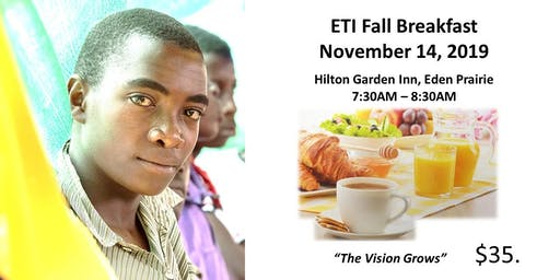 ETI Fall Breakfast