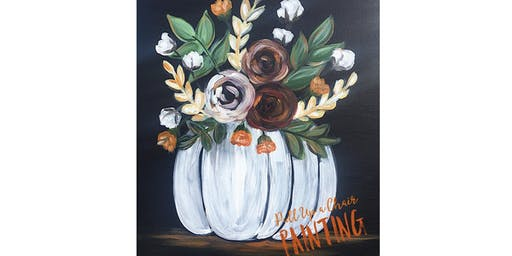 PUMPKIN BOUQUET paint class #2 (21+ only)