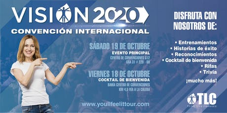 TLC's International Latin Convention | Vision 2020 entradas