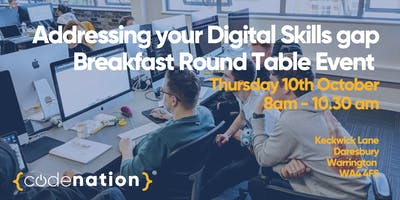 Breakfast Round Table Event with Code Nation and Sci-Tech Daresbury