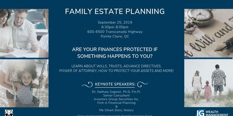 Family Estate Planning tickets