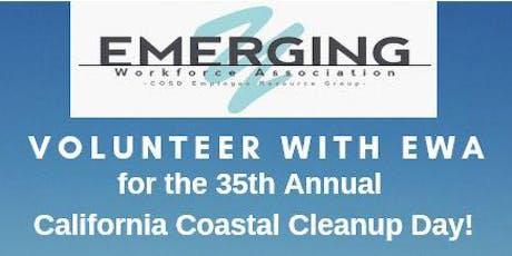 Volunteer with EWA at the 35th Annual CA Coastal Cleanup Day! tickets