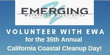 Volunteer with EWA at the 35th Annual CA Coastal Cleanup Day!
