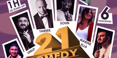 21 Comedy Folks #4 - Standup billets