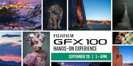 FUJIFILM GFX 100 - Hands-On Experience tickets