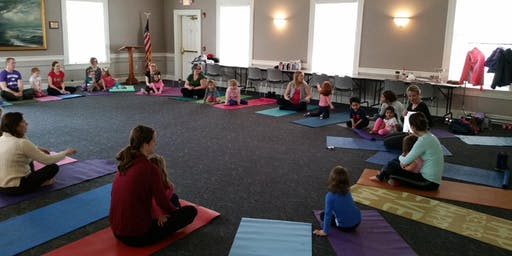 Mommy and Me Yoga, October 2019