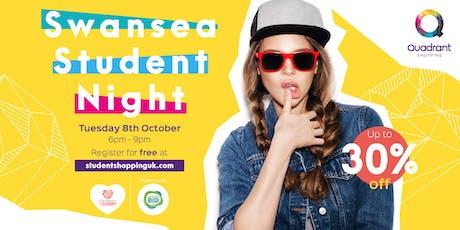 Swansea Student Shopping Night tickets