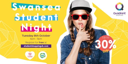 Swansea Student Shopping Night