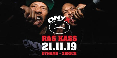 ONYX & Ras Kass Live in Zurich tickets