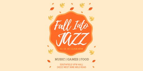Fall Into Jazz Music and Food Festival tickets