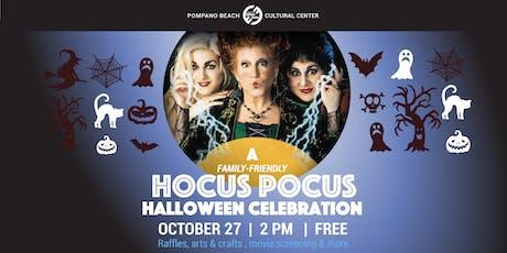 A FREE Hocus Pocus Halloween Celebration tickets