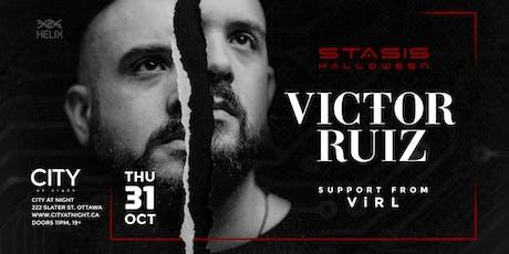 Victor Ruiz at City At Night : Stasis Halloween tickets