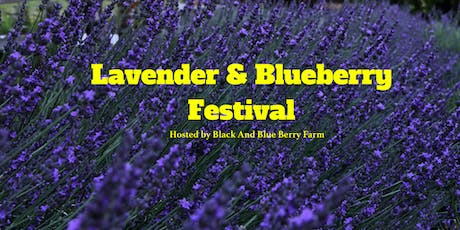 Lavender and Blueberry Festival Second Saturday tickets