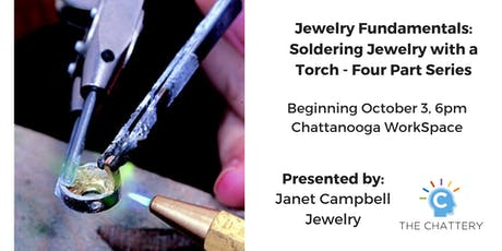Jewelry Fundamentals: Soldering Jewelry with a Torch - Evening Series tickets