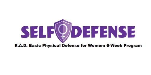 R.A.D. Basic Physical Defense for Women: 6-Week Program