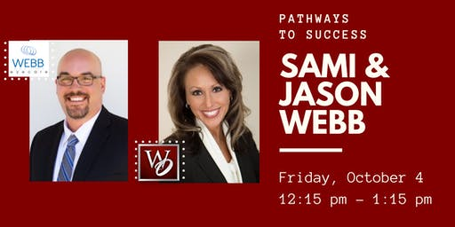 Pathways to Success Luncheon - Sami and Jason Webb