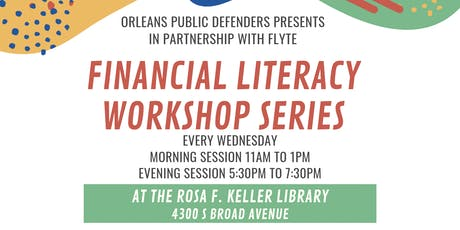 Financial Literacy Workshop: Housing Access and Tenants' Rights tickets