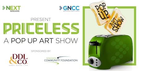 NEXTNiagara Presents: Priceless A Pop Up Art Show tickets