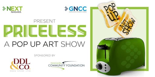 NEXTNiagara Presents: Priceless A Pop Up Art Show