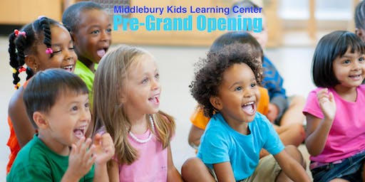 Pre-Grand Opening Middlebury Kids Learning Center