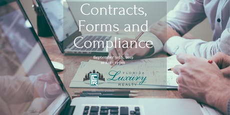 Contracts, Forms, and Compliance tickets