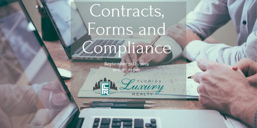 Contracts, Forms, and Compliance