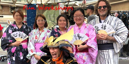 Japanese cultural workshop at Japan Market Vancouver 12:30pm. Early Bird