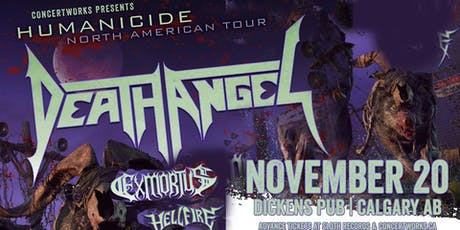 DEATH ANGEL with EXMORTUS & HELLFIRE tickets